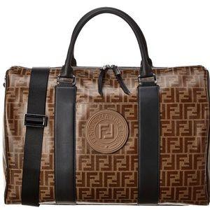 Fendi FF Print Duffle Bag
